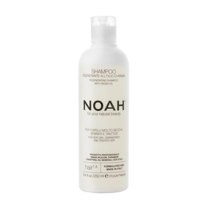 Shampoo Naturale per capelli molto secchi, sfibrati e trattati_NOAH_250ml
