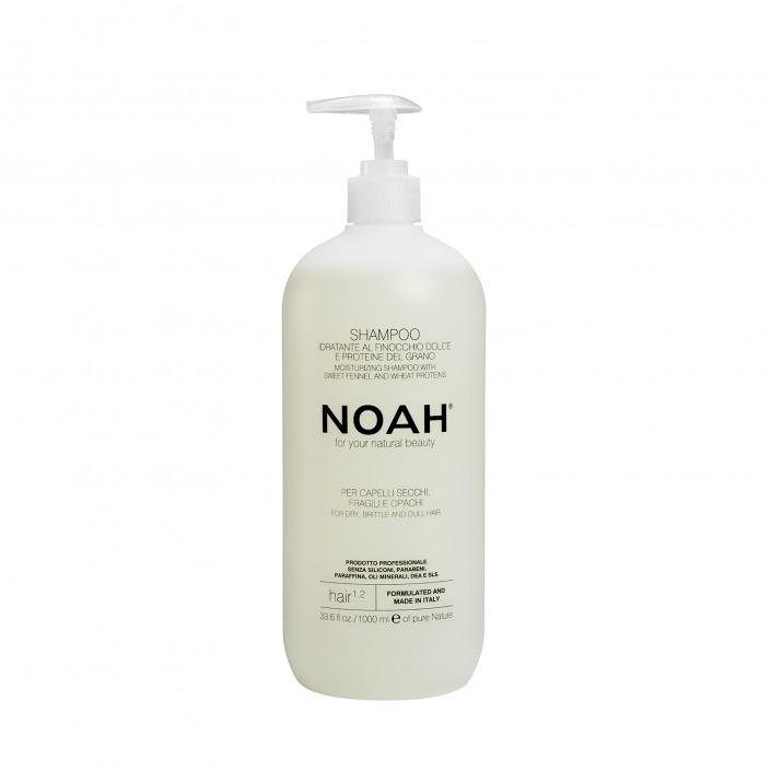 Shampoo Naturale per capelli opachi e secchi_NOAH_1000ml