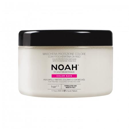 Prodotti naturali per capelli colorati - Maschera protezione colore per capelli colorati, con mechès, colpi di sole o trattati