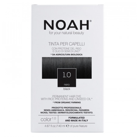 Prodotti naturali per capelli colorati - Tinta per capelli Nero