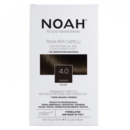 Prodotti naturali per capelli colorati - Tinta per capelli Castano