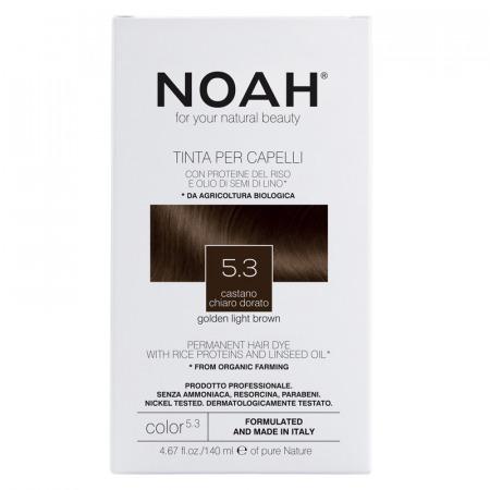 Prodotti naturali per capelli colorati - Tinta per capelli Castano Chiaro Dorato