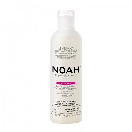 Prodotti naturali per capelli colorati - Prodotti naturali per capelli danneggiati - Shampoo protezione colore per capelli colorati, con mechès, colpi di sole o trattati