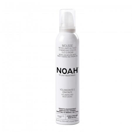 Prodotti naturali per capelli lisci - Mousse modellante volumizzante e idratante