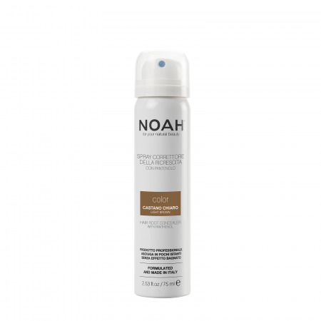Prodotti naturali per capelli colorati - Spray correttore della ricrescita Castano Chiaro