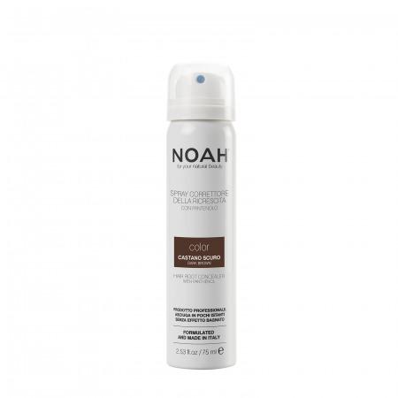 Prodotti naturali per capelli colorati - Spray correttore della ricrescita Castano Scuro