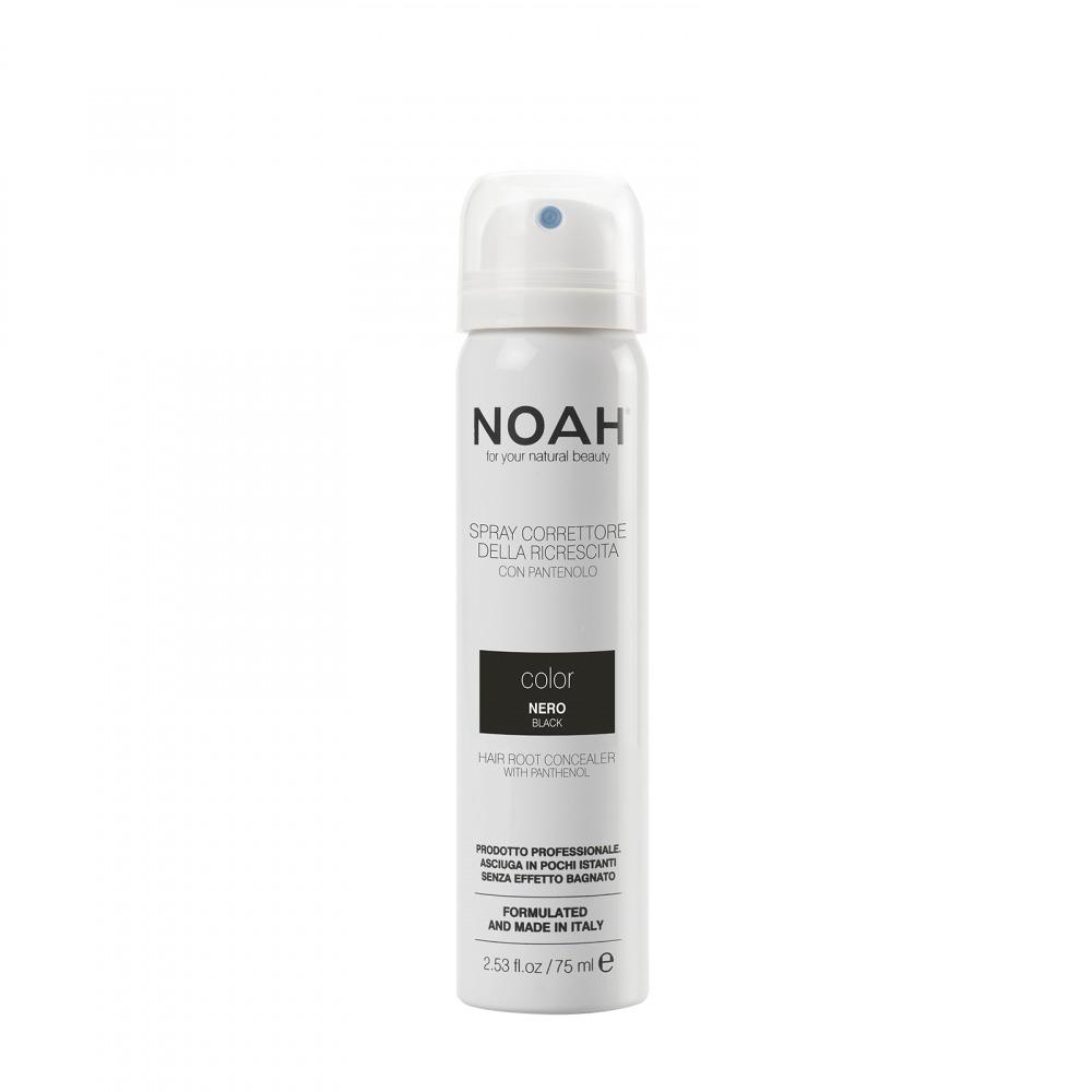 Prodotti naturali per capelli colorati - Spray correttore della ricrescita Nero