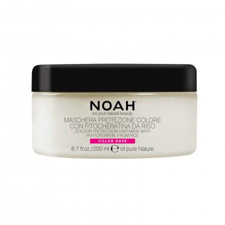 Prodotti naturali per capelli colorati - Maschera protezione colore per capelli colorati, con mechès, colpi di sole o trattati | 200ml