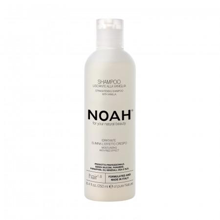 Prodotti naturali per capelli lisci - Shampoo Lisciante alla vaniglia